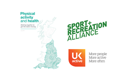 Physical activity and health report cover image ()