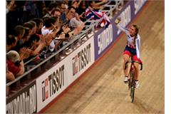 Laura Kenny at the UCI Track Cycling World Championships - Day Two (Getty Images)