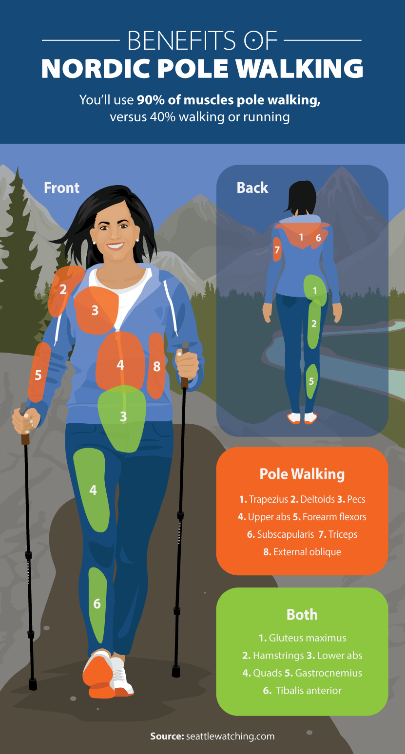benefits nordic pole walking ()
