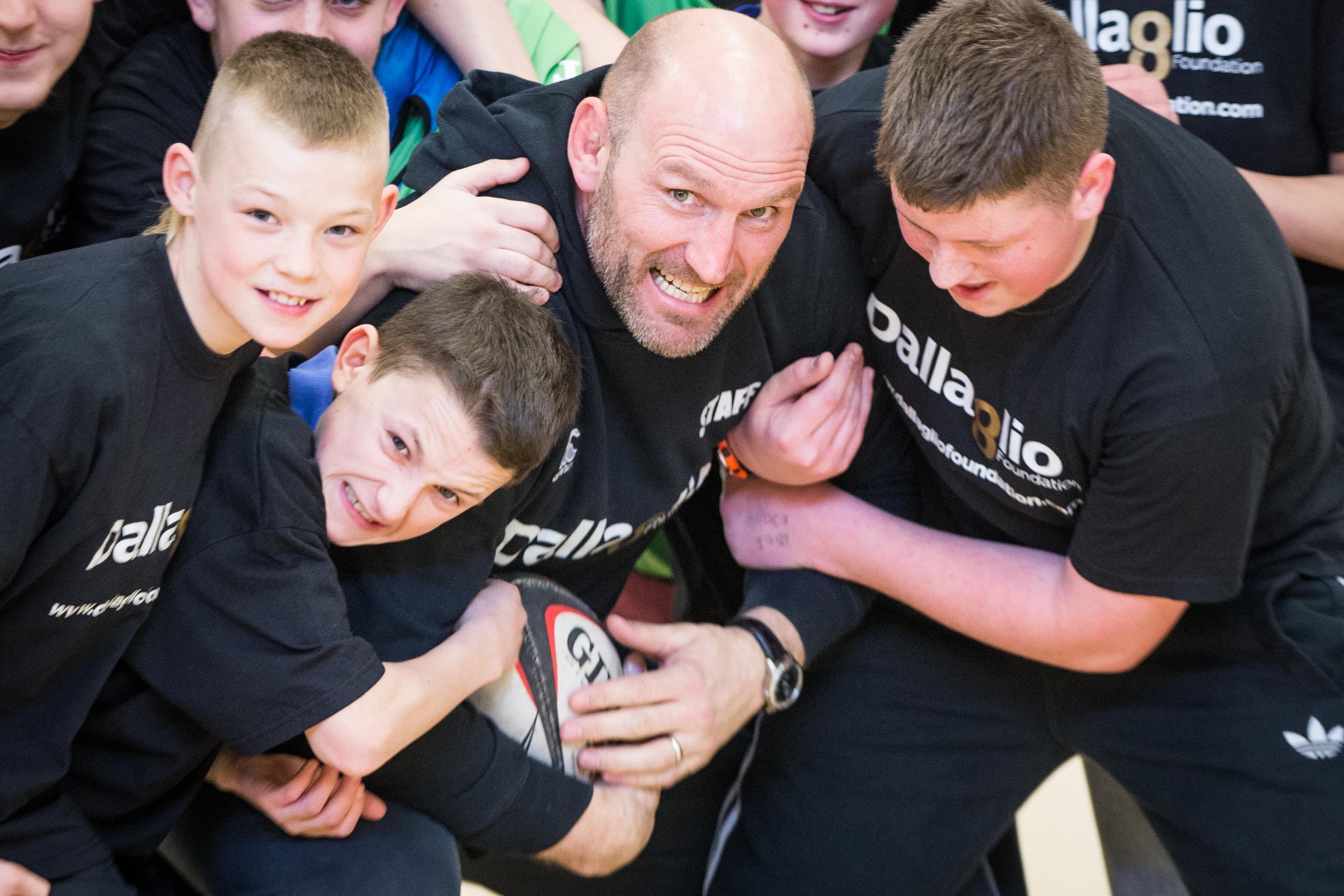 Lawrence Dallaglio RugbyWorks programme (Dallaglio RugbyWorks)