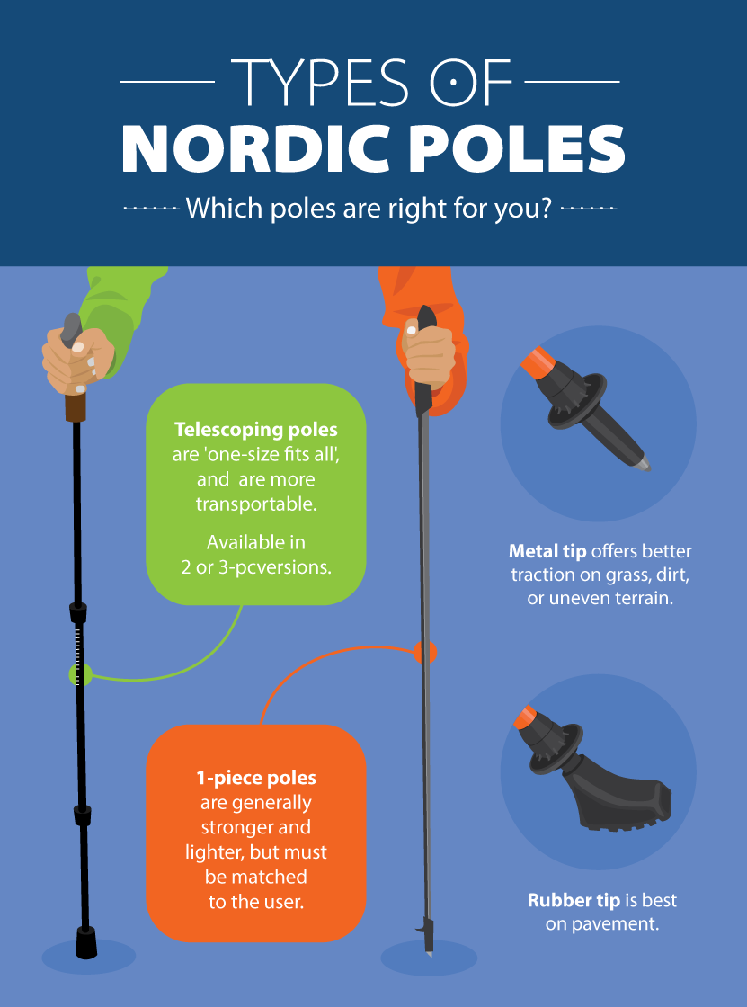 types of nordic poles ()