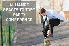 Tory conference recognises sport as force for good, but much more to do ()