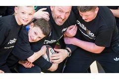 Lawrence Dallaglio RugbyWorks programme (Dallaglio RugbyWorks)