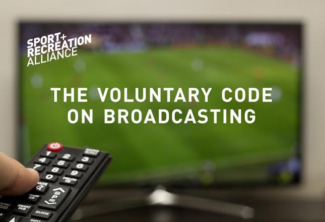 Voluntary code on broadcasting ()
