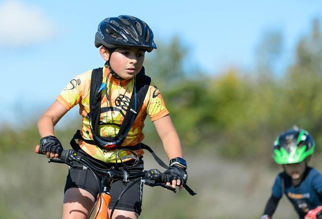 Boy Cycling ()