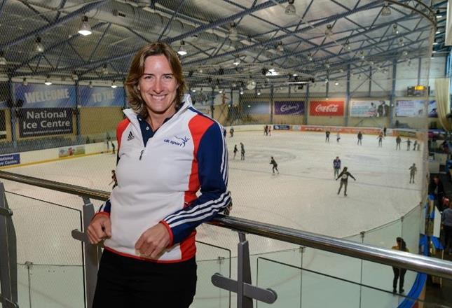 Katherine Grainger at Speed Skating (UK Sport )
