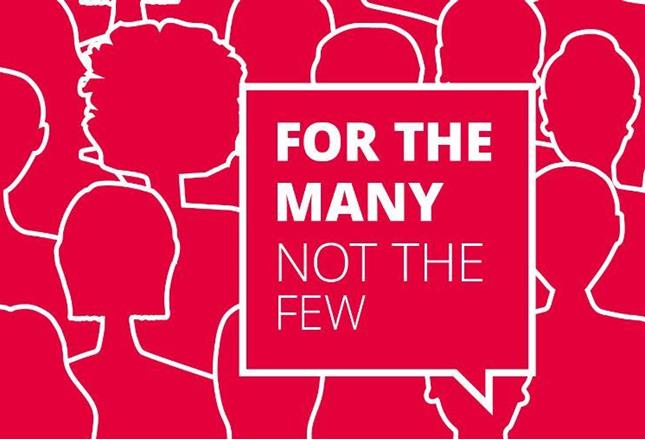 Labour Party Manifesto 2017: For The Many, Not The Few | News | Sport and  Recreation Alliance