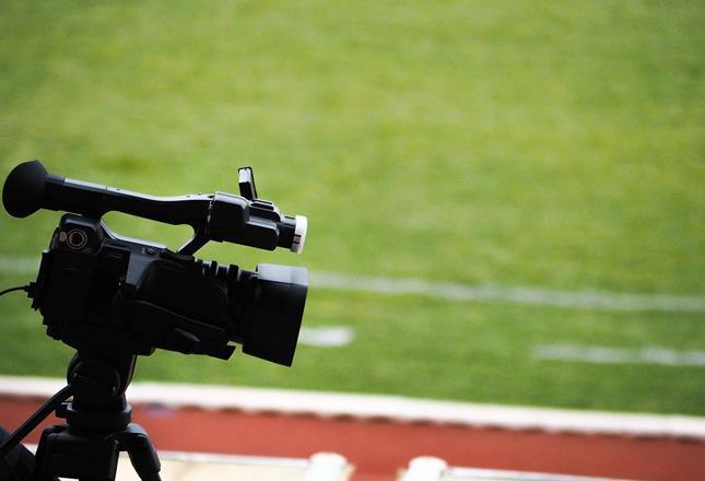 camera at stadium ()