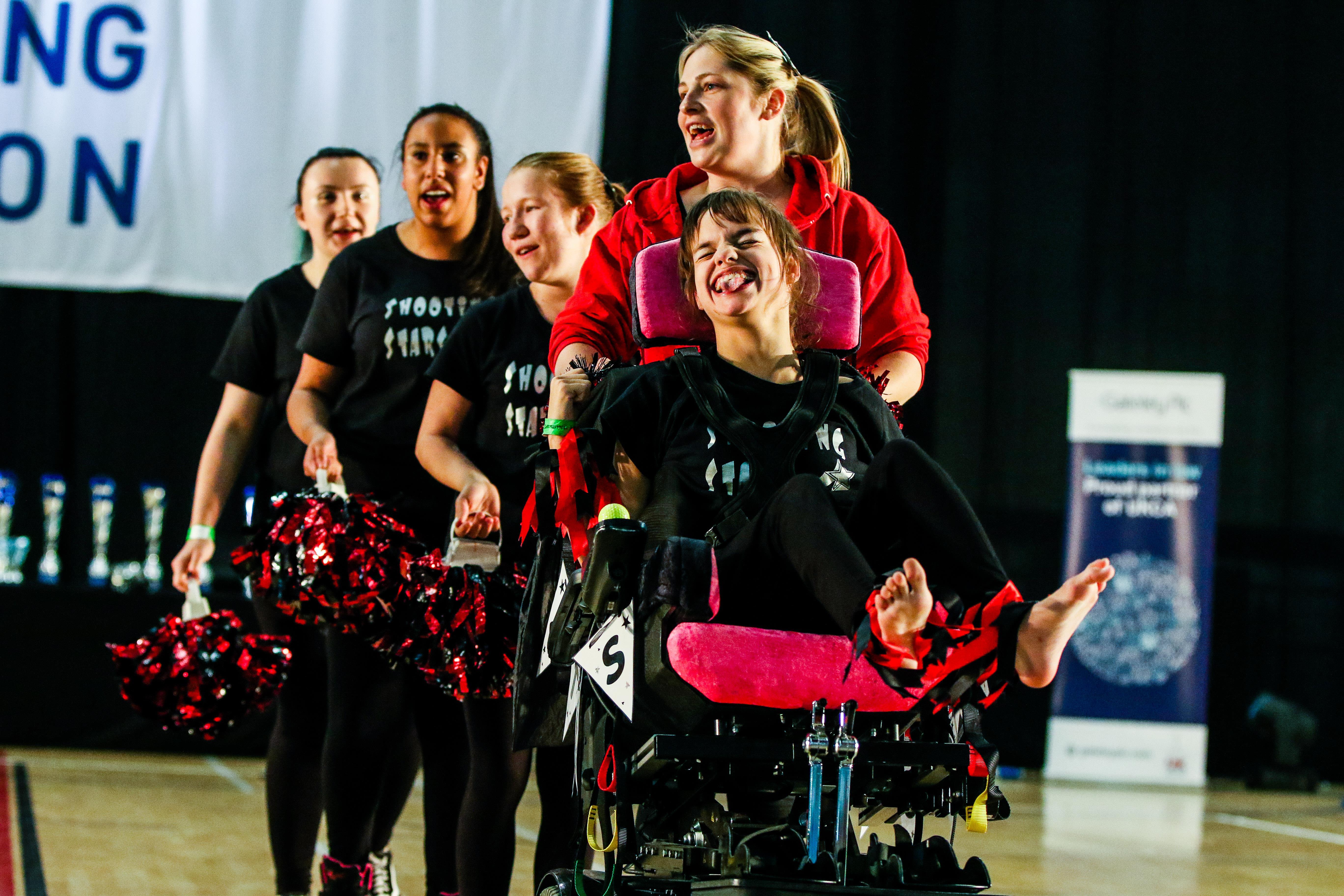 Disability Cheerleading ()