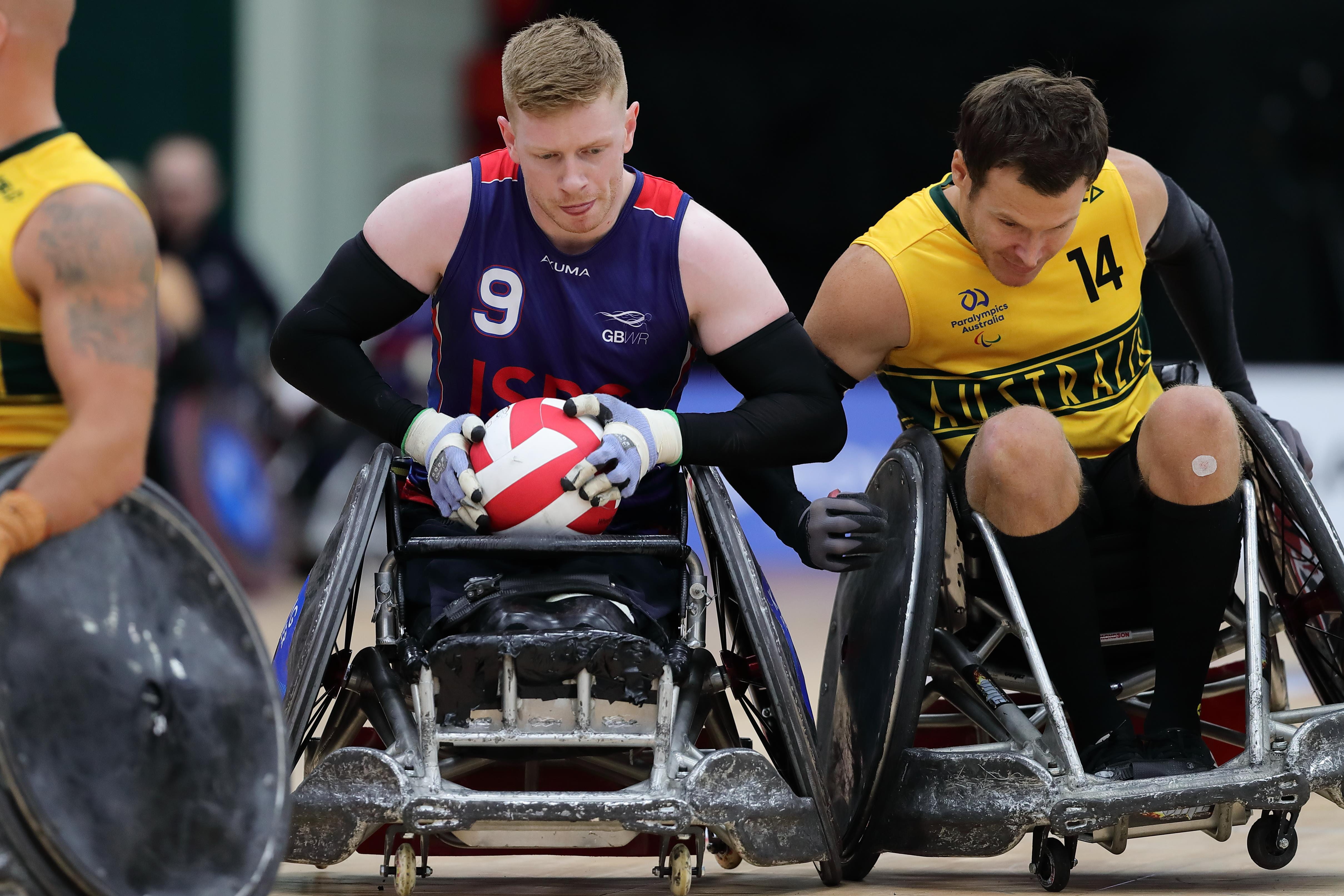Wheelchair Rugby 2 ()