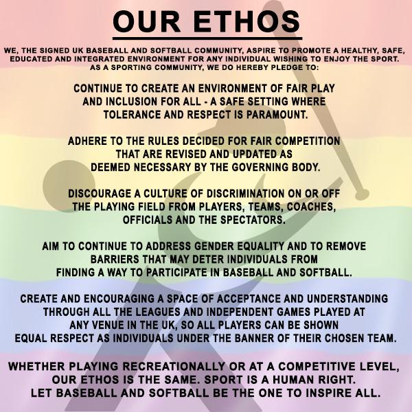 BaseballSoftballUK LGBT Ethos ()