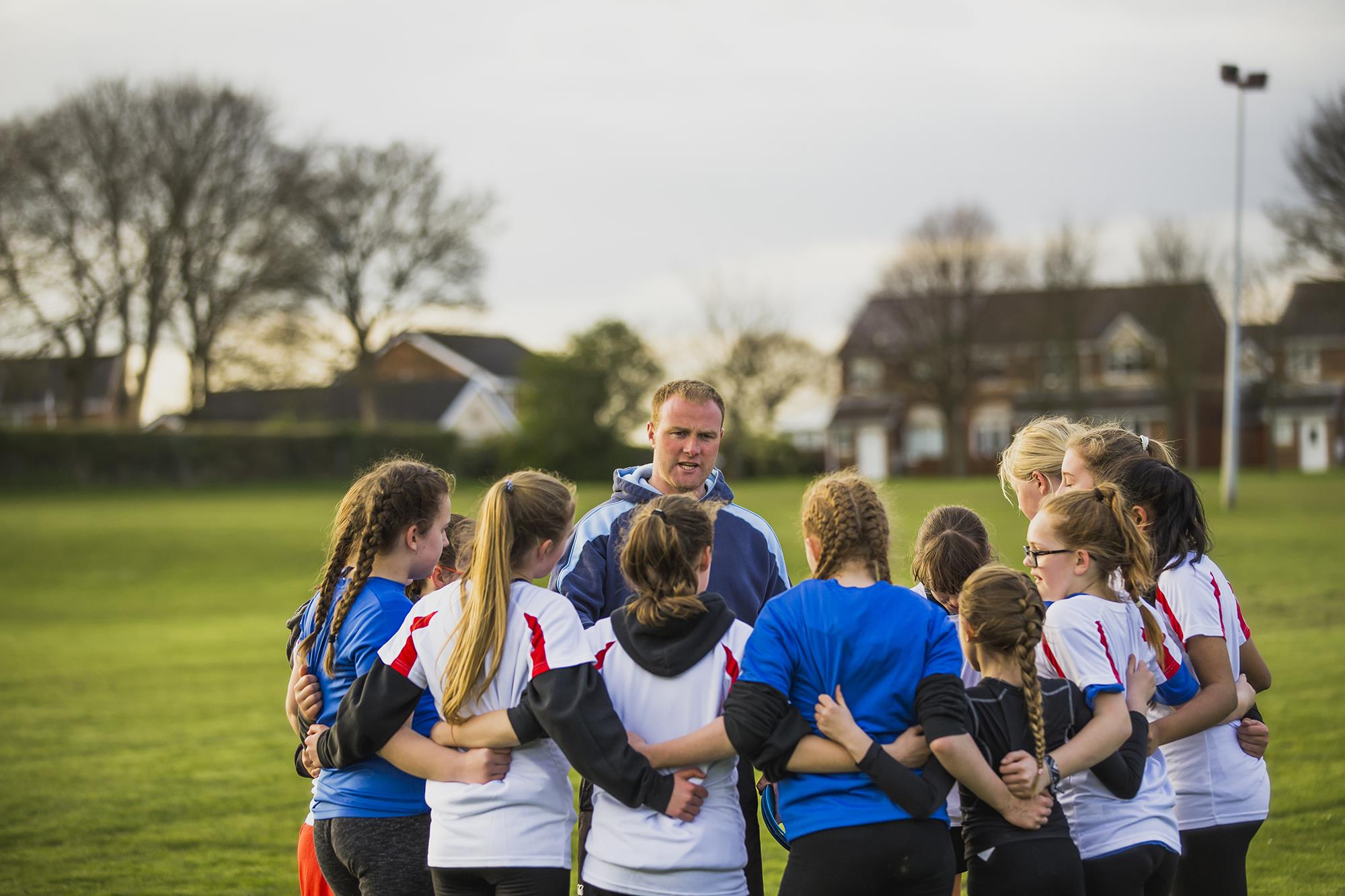 Grassroots Sport Girls in field ()