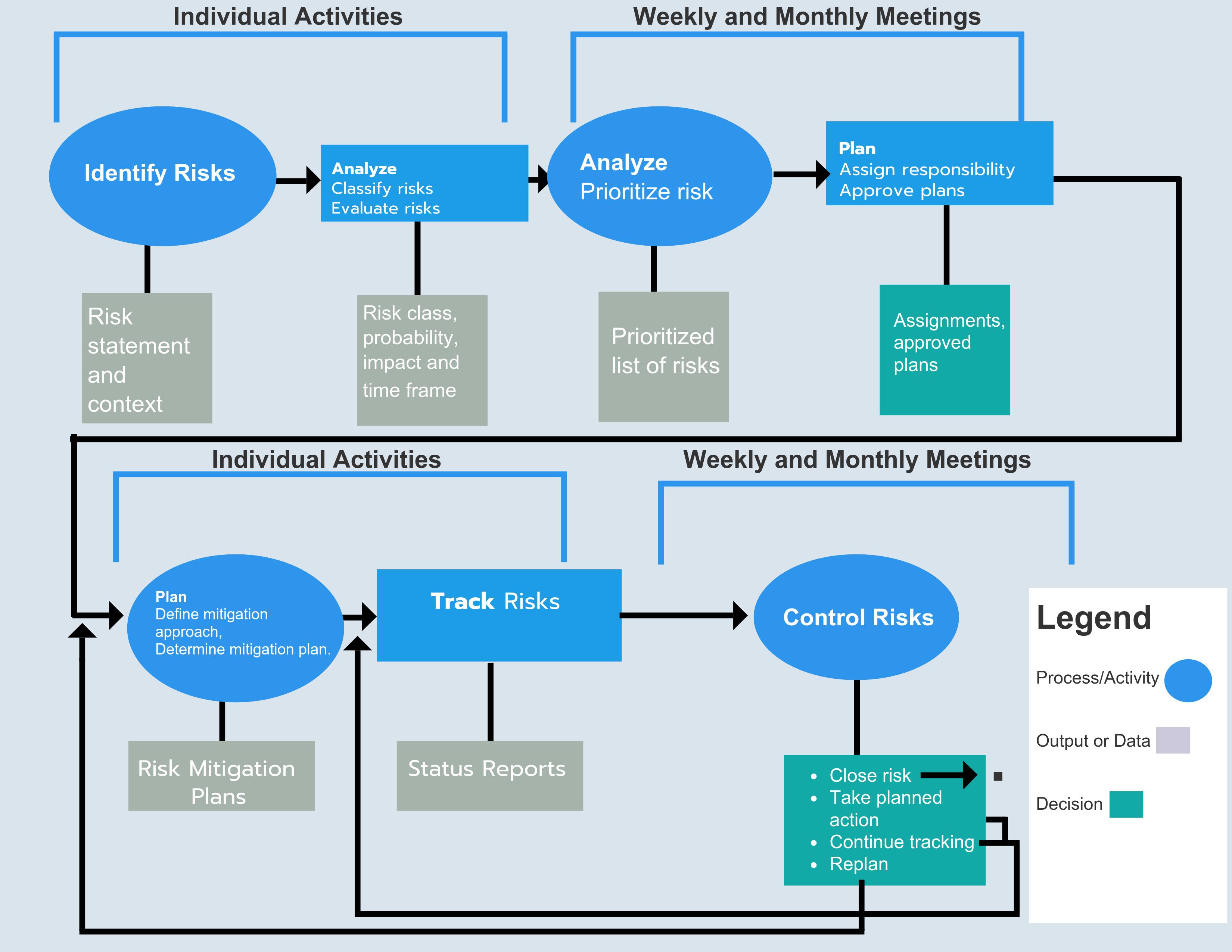 Risk Flow Chart ()