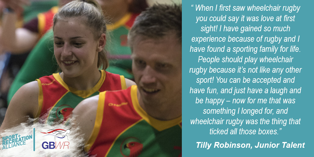 Tilly Robinson WR quote ()