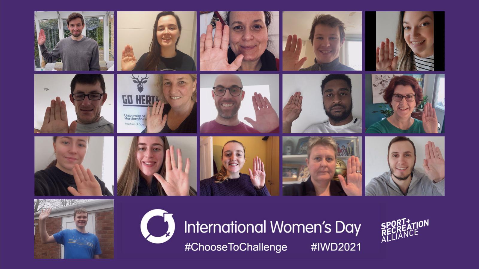 Alliance staff International Women's Day ()